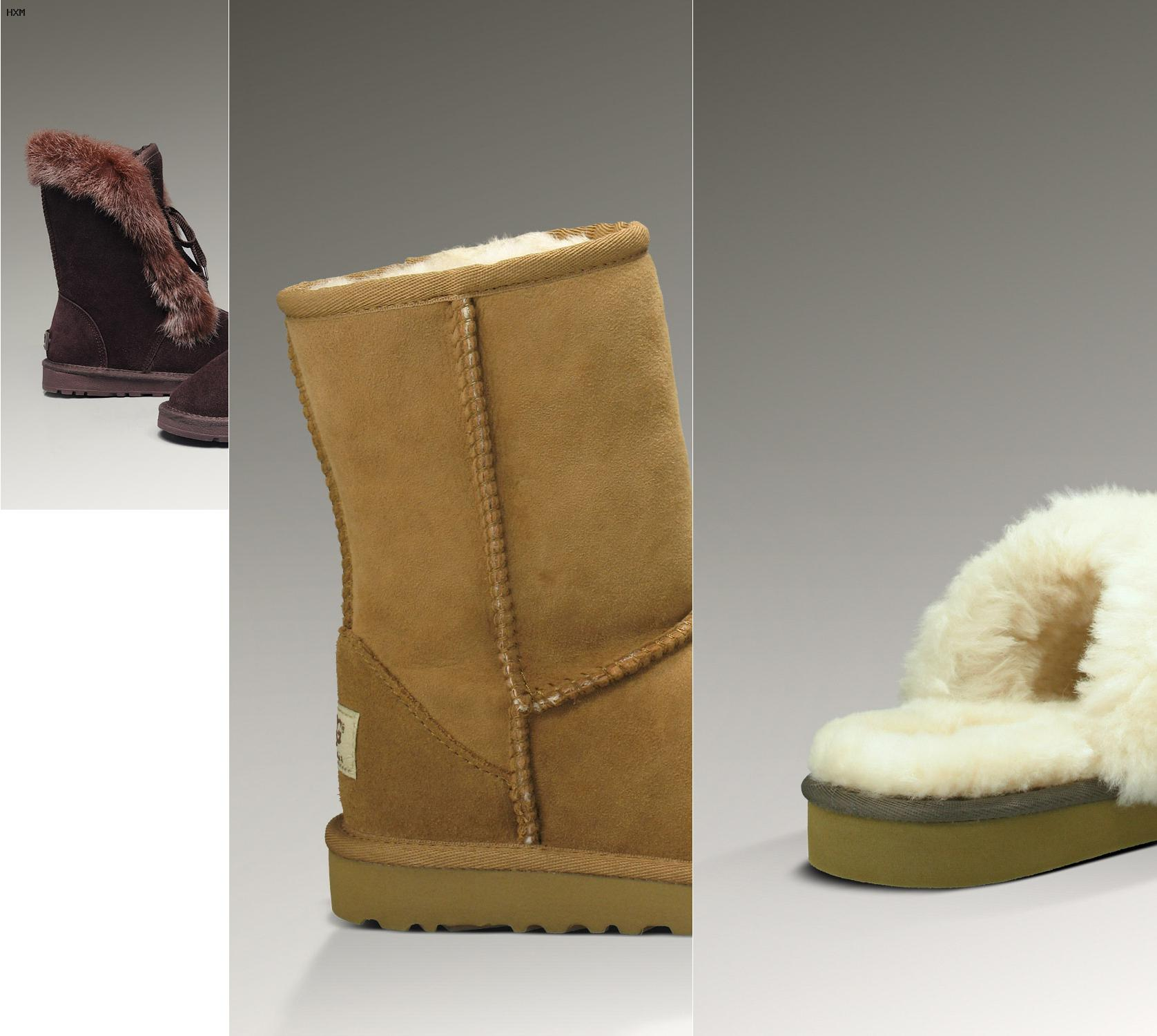 botas tipo ugg impermeables